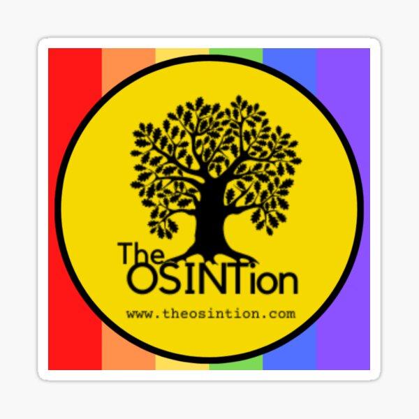 The OSINTion Pride Sticker