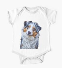 Australian Shepherd One Piece - Short Sleeve