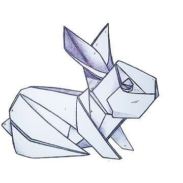 Origami Rabbit by grackken