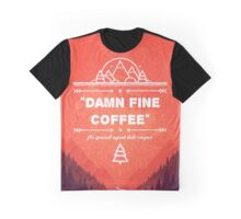 Twin Peaks - Damn Fine Coffee Graphic T-Shirt
