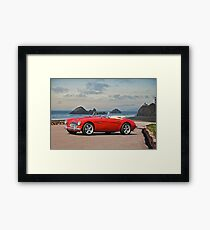 Austin V8 Healey Framed Print