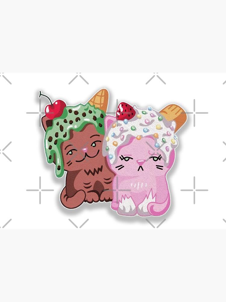Moriah elizabeth cute ice cream cats by franktact
