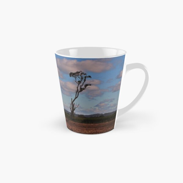 Standing alone in a cane field Tall Mug