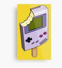 Game Boy Ice Cream Metal Print