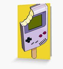 Game Boy Ice Cream Greeting Card