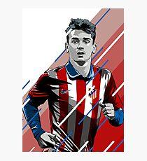 Lámina fotográfica griezmann del Atlético de Madrid