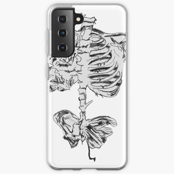 Butterfly Ribs Drawing  Samsung Galaxy Soft Case