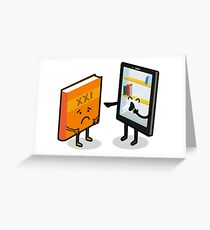 Book and e-book Greeting Card