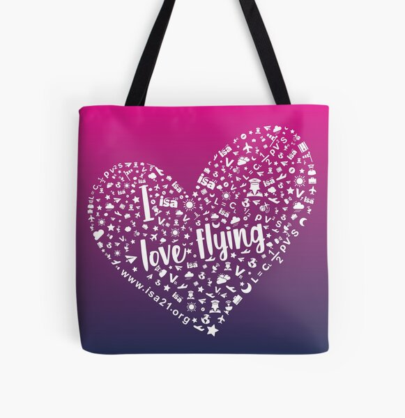 I really love flying All Over Print Tote Bag