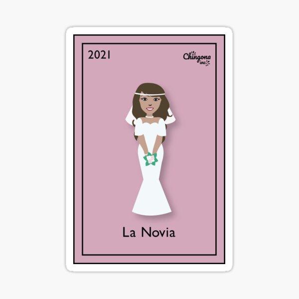 La Novia 2021 Sticker