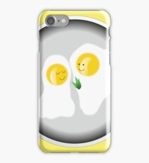 Love story on the frying pan iPhone Case/Skin