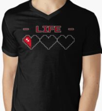 8-Bit Heart Containers (Empty) T-Shirt
