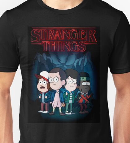 Stranger Things |Gravity Falls style| Unisex T-Shirt