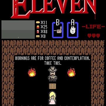 The Legend Of Eleven by mannart