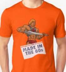 He-Man Made in the 80s Unisex T-Shirt