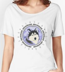 Anchorage, Alaska Women's Relaxed Fit T-Shirt