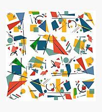 Colourful Constructivism Photographic Print