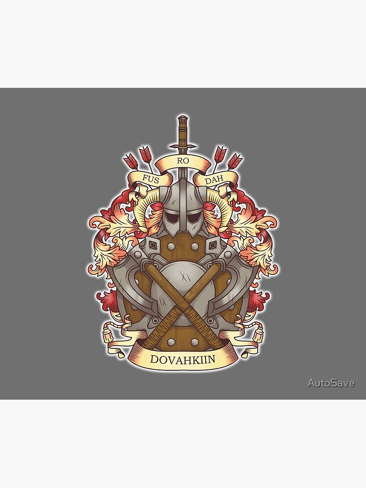 Dovah-crest by AutoSave