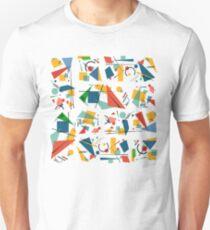Colourful Constructivism Unisex T-Shirt