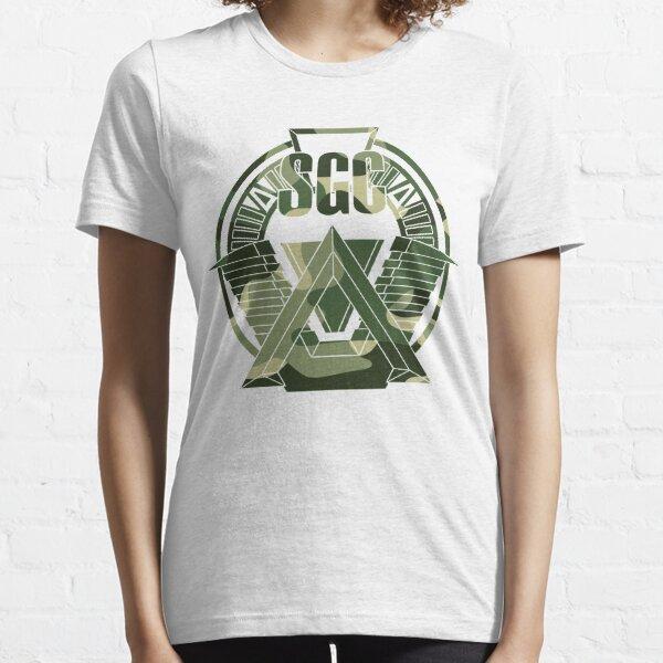 Patch camo Stargate sgc, t-shirt camo stargate sg-1 T-shirt essentiel