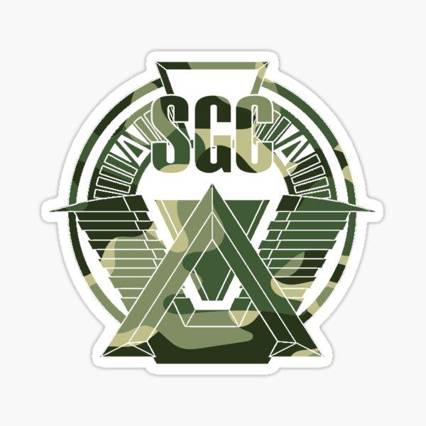 Patch camo Stargate sgc, t-shirt camo stargate sg-1 Sticker