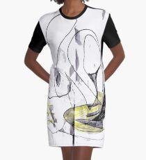 Carmi´s abstract # 1 Graphic T-Shirt Dress