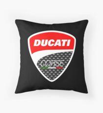 Ducati Corse Logo Throw Pillow