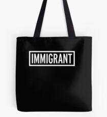 Inmigrante Bolsa de tela