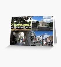 Images of Dublin, Ireland Greeting Card