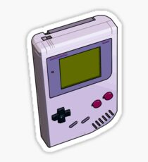 Game Boy 3D Sticker