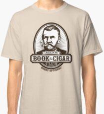 Men's Book & Cigar Club -- Books Optional Classic T-Shirt