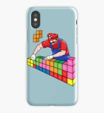Super Mario Mason iPhone Case