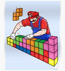 Super Mario Mason Poster