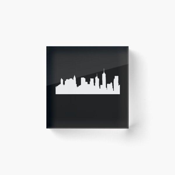 Brooklyn new york Acrylic Block