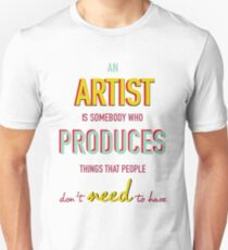 Quote Andy Warhol T-Shirt