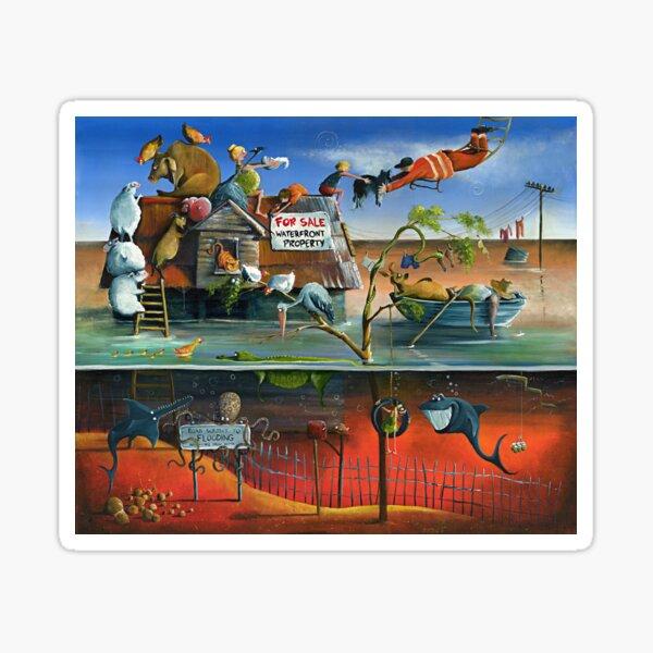 Waterfront Property Sticker