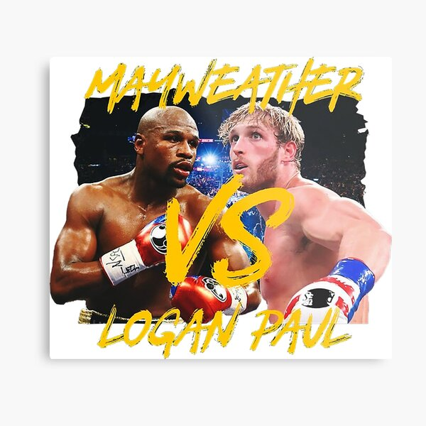 mayweather vs paul Metal Print