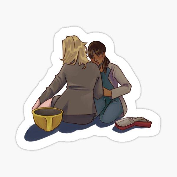 Leslie and Ann  Sticker