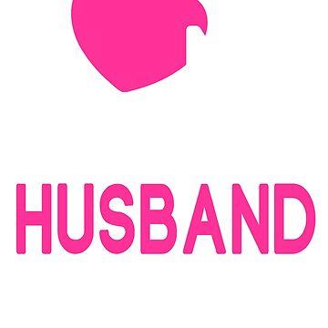 I Love My Crazy Husband T-Shirt by johnnydany