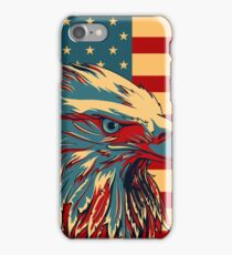 American Patriotic Eagle Bald iPhone Case/Skin