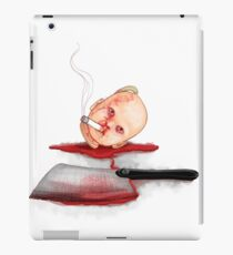 Dead smoking Doll iPad Case/Skin
