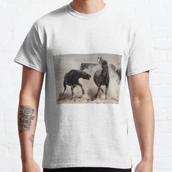 Wild Horse Wars Classic T-Shirt