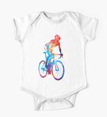 Woman triathlon cycling 06 One Piece - Short Sleeve