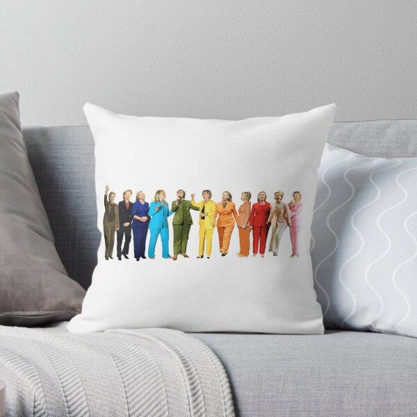 Hillary Rainbow Throw Pillow