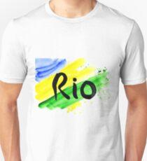 inscription Rio, Olympic games 2016 Rio de Janeiro  T-Shirt