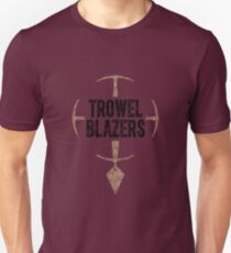 TrowelBlazers Logo WHITE Unisex T-Shirt