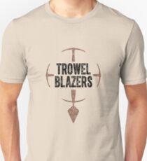 TrowelBlazers Logo WHITE T-Shirt