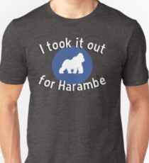 I took it out for Harambe T-Shirt