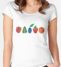 The Very Hungry Caterpillar  Women's Fitted Scoop T-Shirt