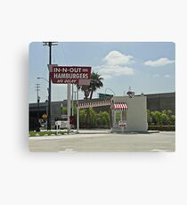 Original In-n-out Location Canvas Print